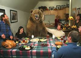 bear thanksgiving